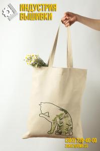 Эко-сумки на заказ с вышивкой