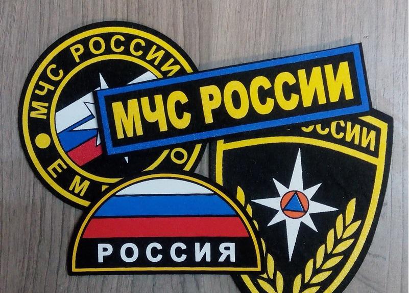 Пластизолевые шевроны МЧС России оптом